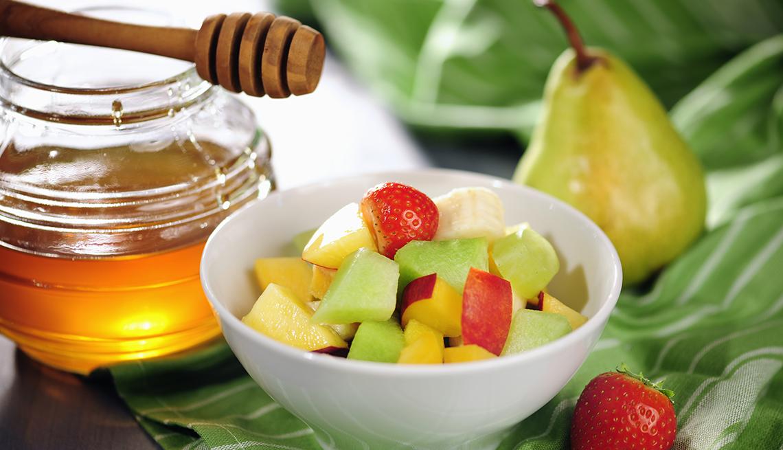 Ensalada de frutas con miel, Quiz sobre que alimentos tienen azúcar oculto