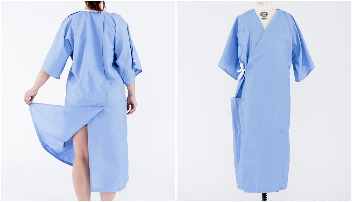 New Hospital Gown With Better Design