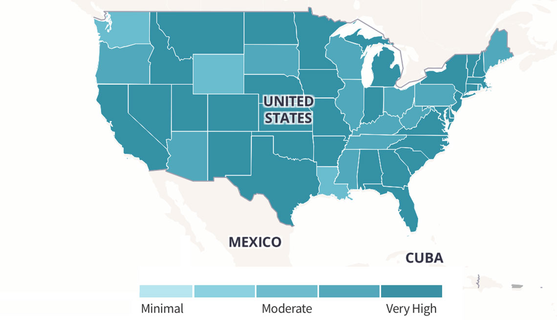Interactive Map Shows Flu Severity Near You - Flu In The Us Map