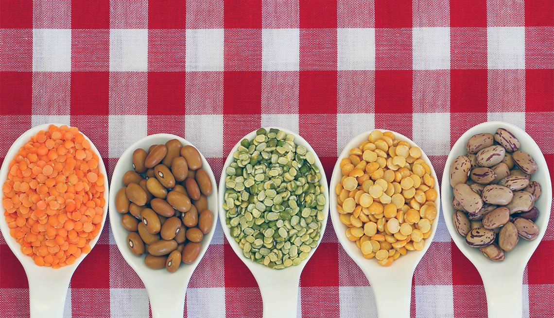 Different beans for protein