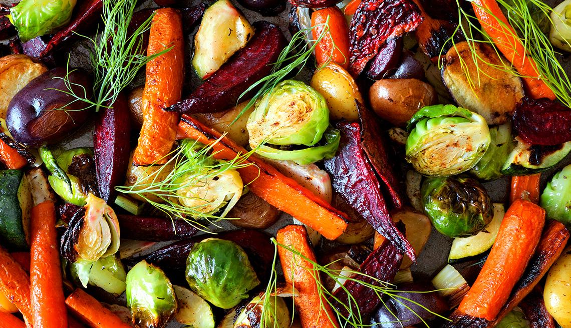 Vegetales salteados