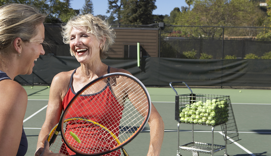 Tennis Ranks Highest Among Exercises for Living Longer