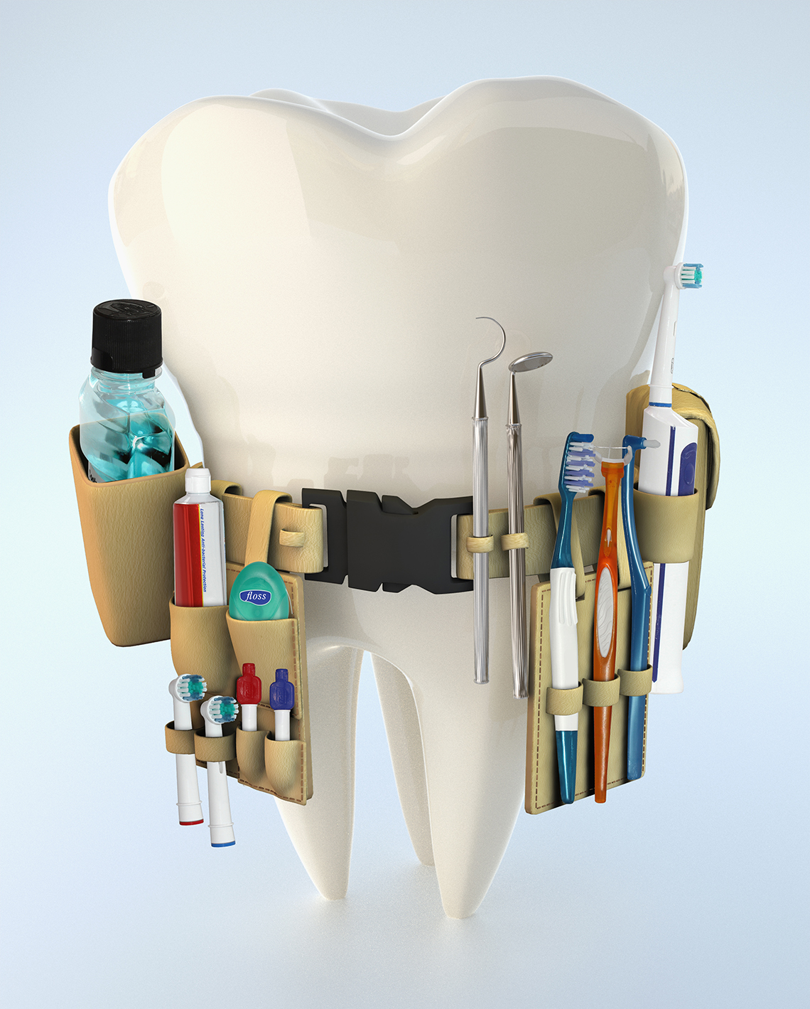 Tips to Find the Best Toothbrush, Mouthwash, Floss
