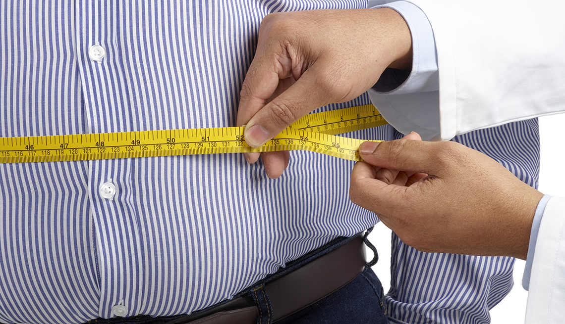 Many Older Adults Are Heavier Close To Obesity