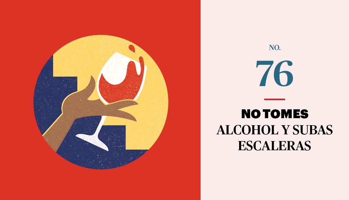 Gráfico de no tomar alcohol
