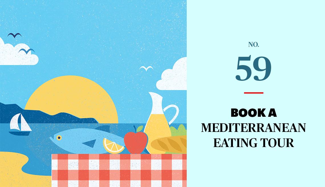 No. 59 Book a Mediterranean Eating Tour