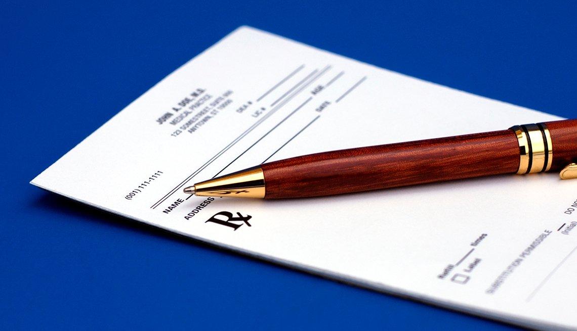 pen on rx pad