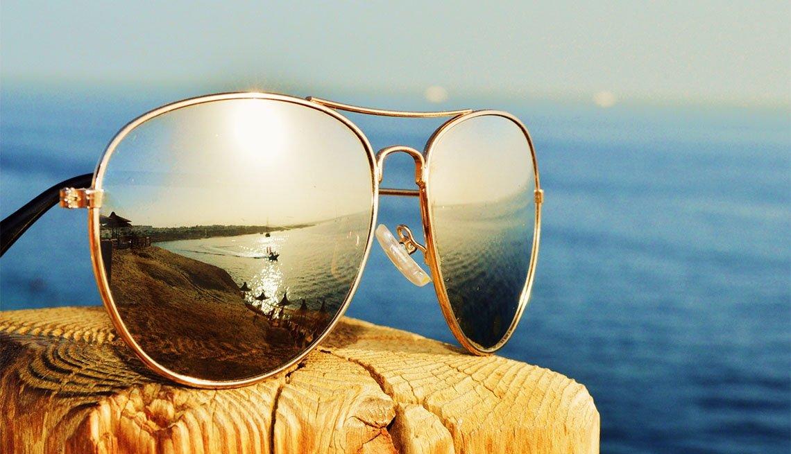 Par de gafas para el sol