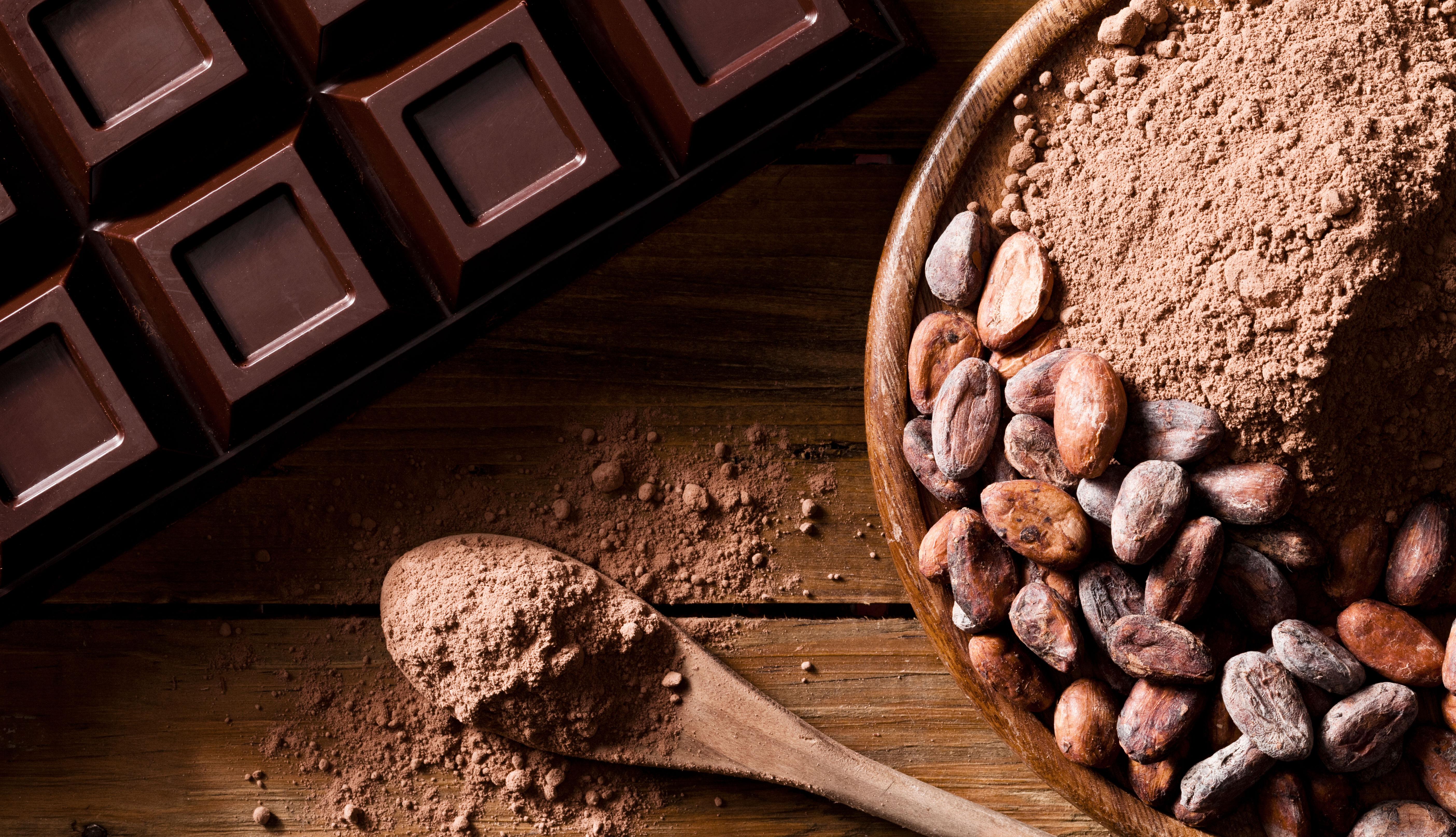 item 5 of Gallery image - Cacao entero, en polvo y en chocolate