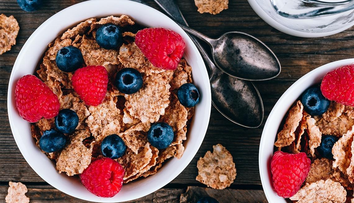 alimentos que contienen fibra insoluble