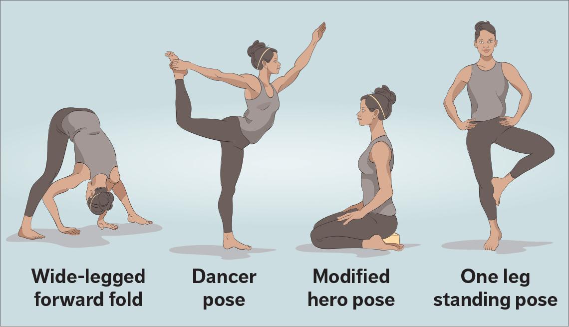 Mary Wilson Favorite Yoga Asanas