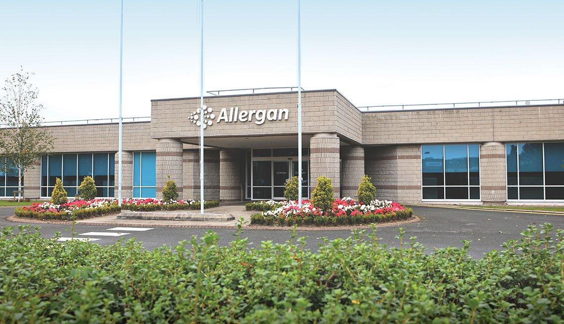 Oficinas de Allergan en Westport, Irlanda