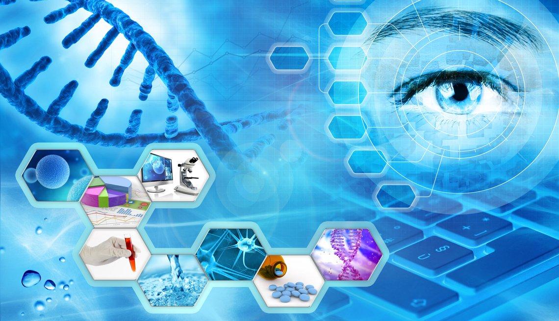 Imagen conceptual relacionada con la investigación científica
