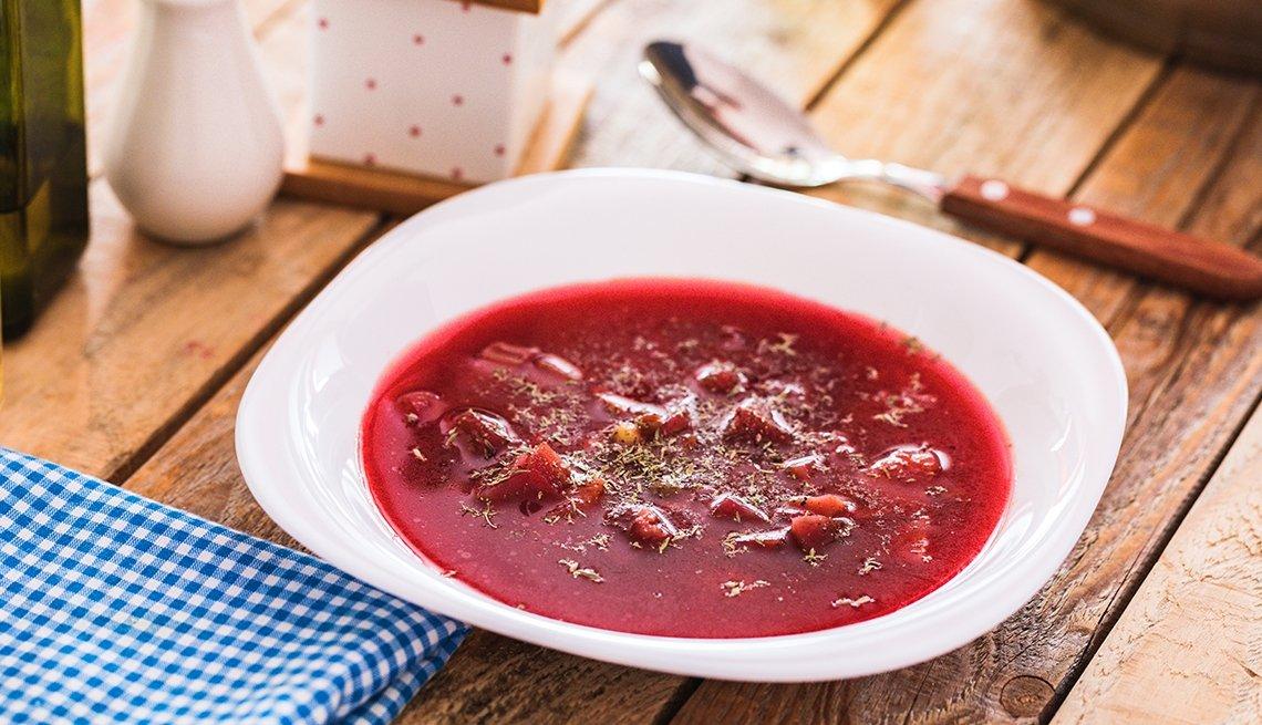 Plato de borscht