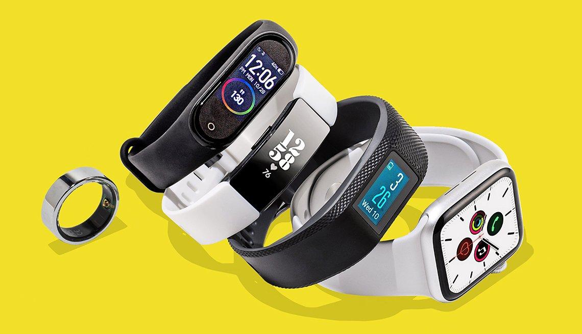 Cinco aparatos diferentes para monitorear la salud