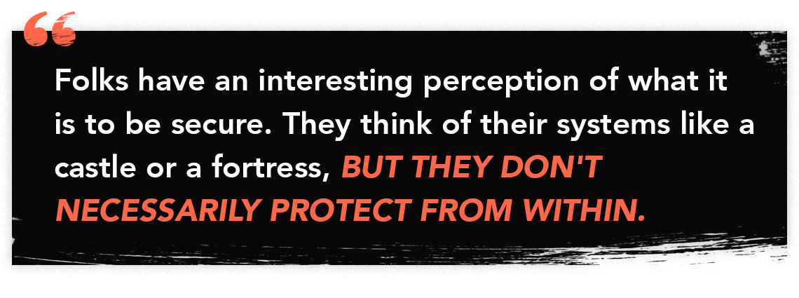Quote graphic from The Perfect Scam