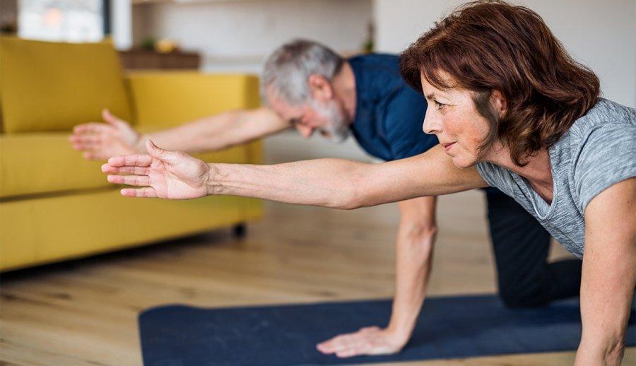Rutina de ejercicios cortas para hacer en casa