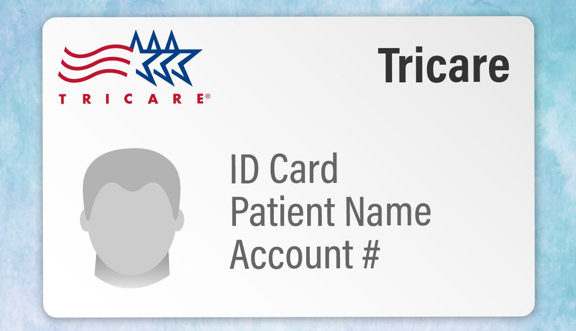 loose representation of a tricare insurance identification