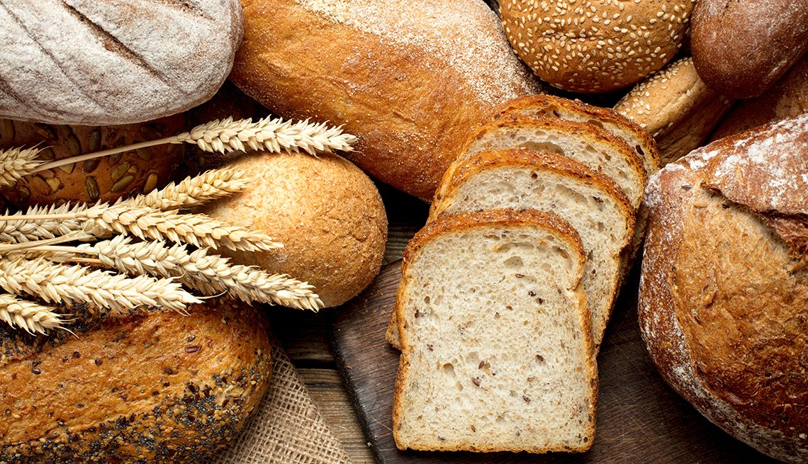 Diferentes tipos de panes