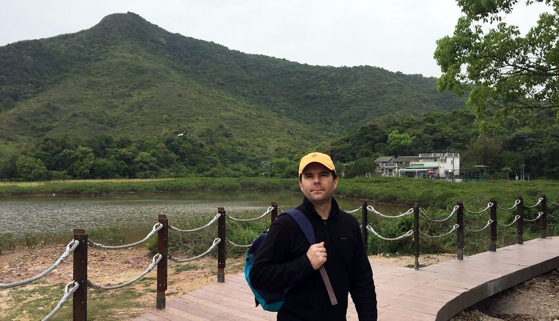charlie schroeder traveling in the hong kong area