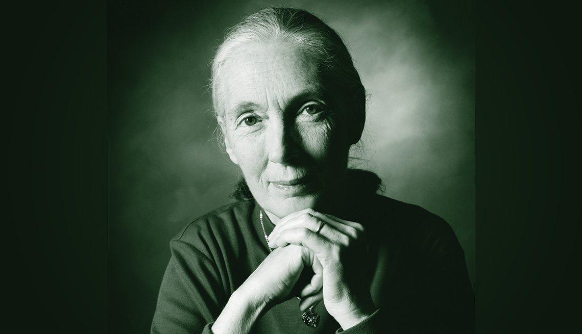 Foto de Jane Goodall