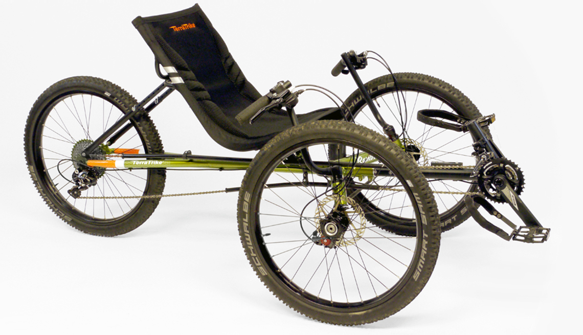 item 1 of Gallery image - the terra trike all terrain three wheel bike