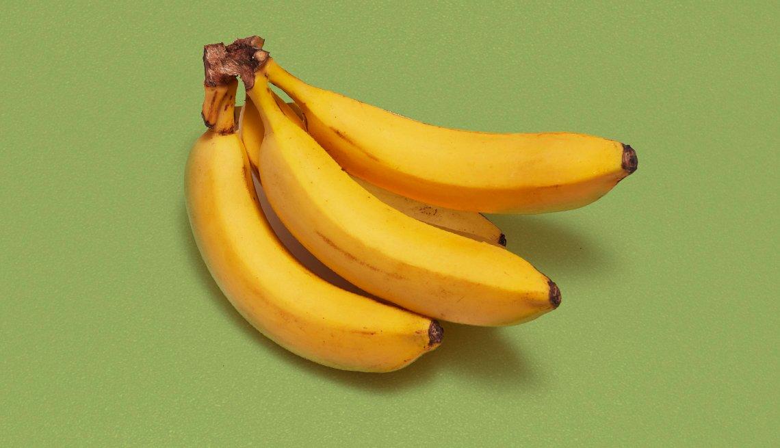 Una mano de bananas