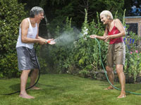 Men and women feel that retirement has both positive and negative effects on their health