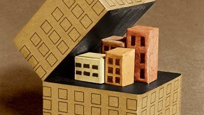 Grafico de un edificio comiendose otros edificios - Afiliacion de hospitales