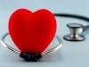 Red heart with stethoscope. Health and healthcare. (Istockphoto)