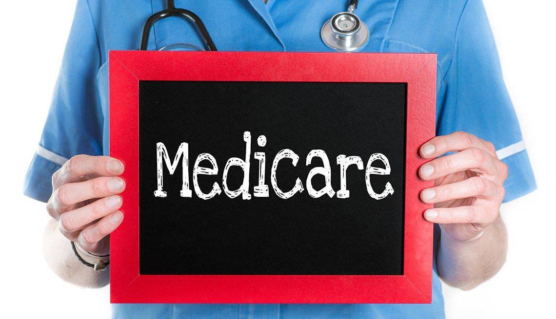 Enfermera con expediente de Medicare