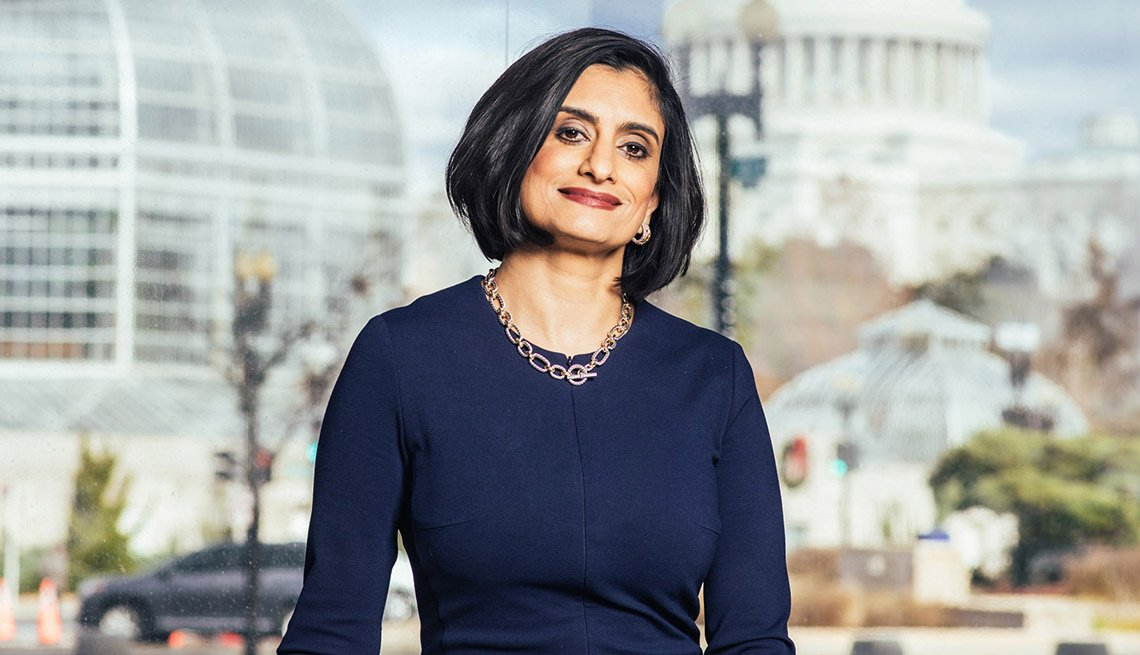 Seema Verma, Administrator of the Centers for Medicare and Medicaid Services Seema Verma at her offices in Washington, DC on November 27, 2018.