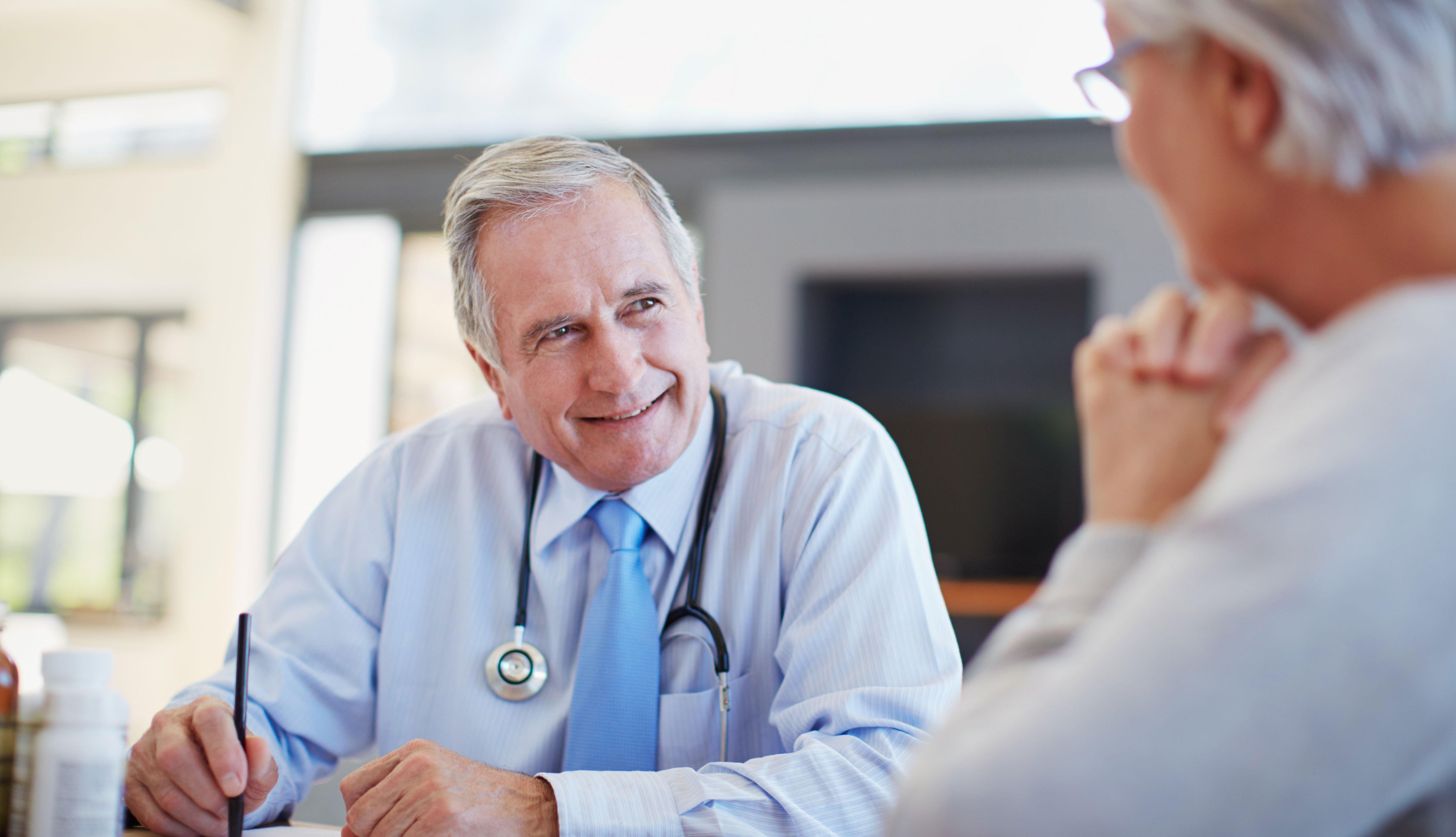 Consulta médico paciente