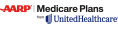 Logo for AARP Medicare Plans with United Healthcare