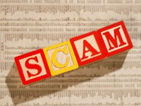 healthcare scams