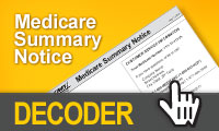 medicare summary notice decoder