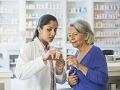 Farmacéutico y paciente