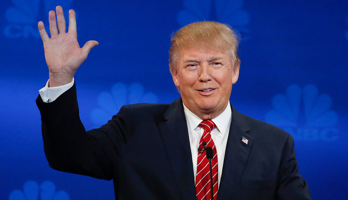 Medicare Players - Donald Trump