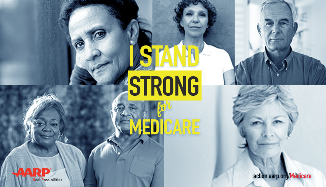 AARP i stand strong for medicare