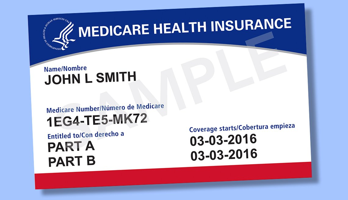 Medicare Shows Off New Card Design