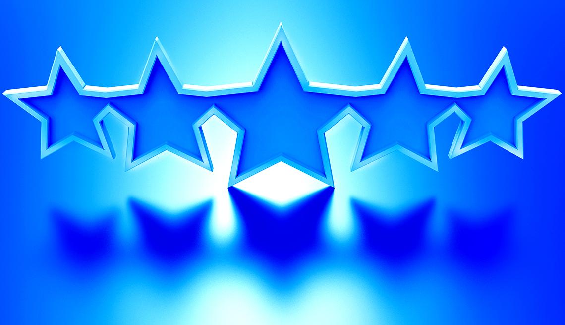 Estrellas azules
