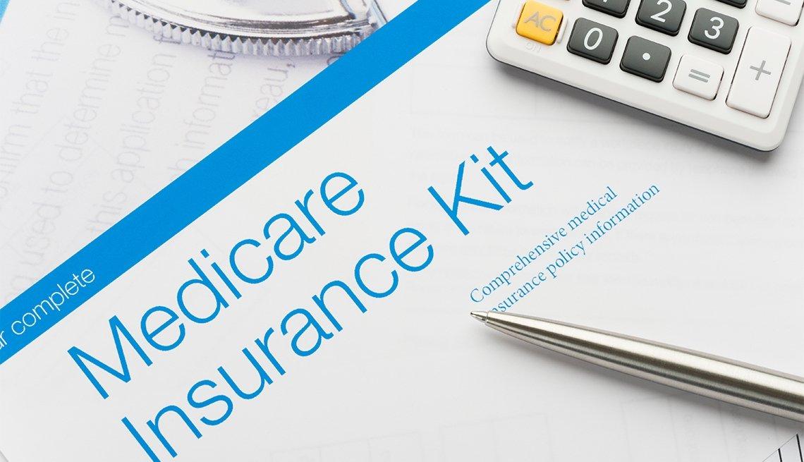Documento de Medicare y calculadora