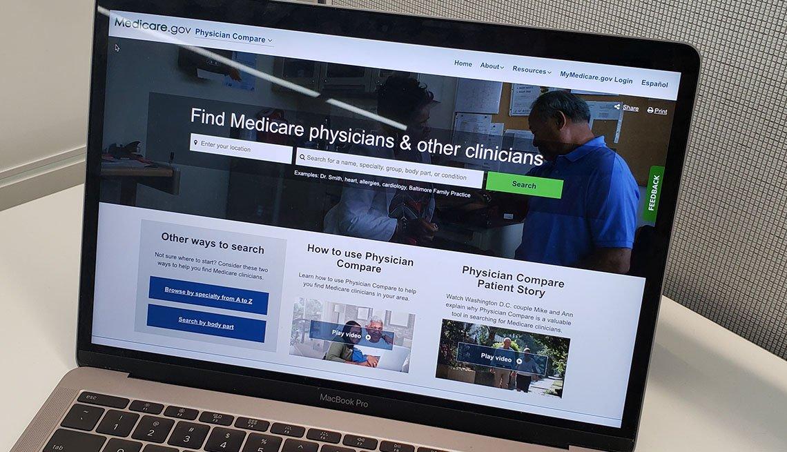 Medicare Compare Website