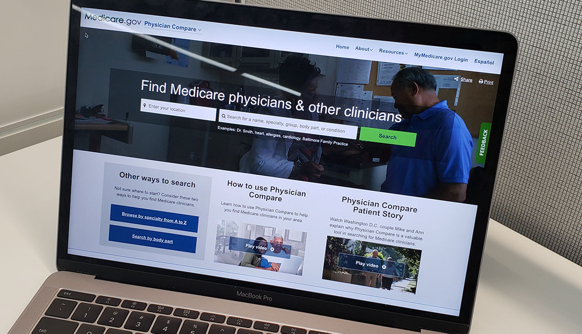 Medicare Compare Website