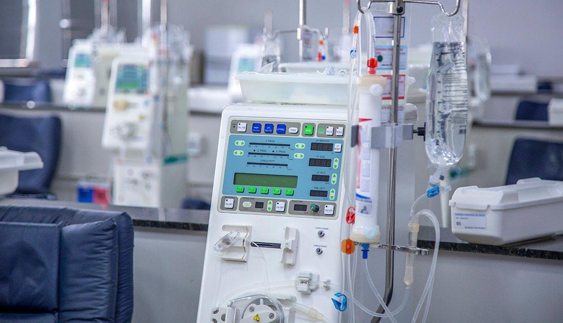 Equipo médico para diálisis