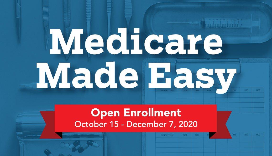 medicare made easy medicare twenty twenty open enrollment is october fifteenth through december seventh