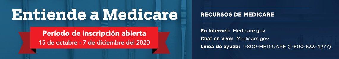 Información sobre inscripción a Medicare