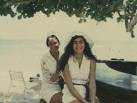 Collage of Sally Abrahms' family photographs and handwriting - The Emotions of Caregiving