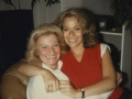 Author Alex Witchel with her mom, Dementia