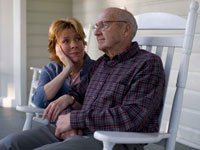 Father and daughter sitting together, caregiving questions answered